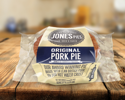 Jones Pies Pork Pie
