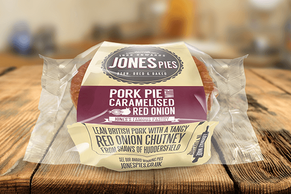 Jones Pies Caramelised Red Onion Pork Pie