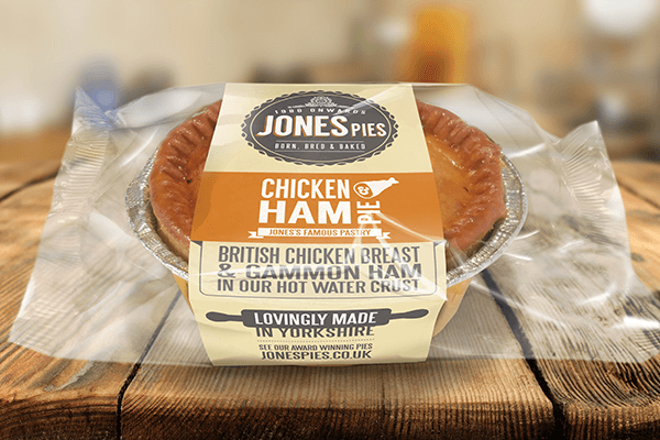 Jones Pies Chicken & Ham Hot Pie