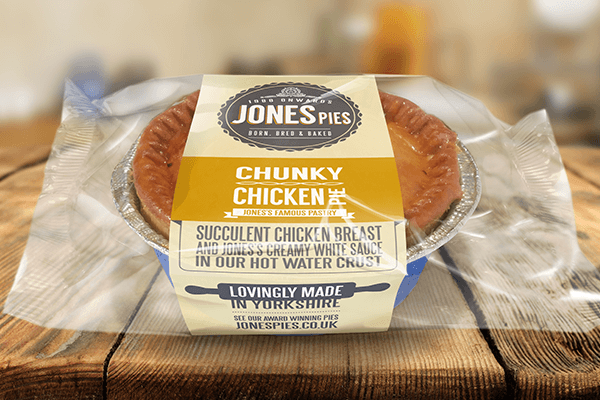 Jones Pies Chunky Chicken Hot Pie