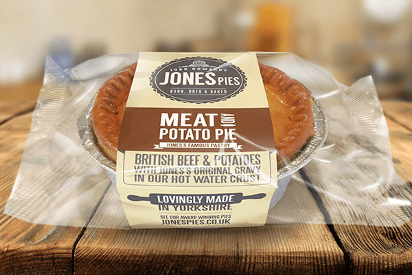 Jones Pies Meat & Potato Hot Pie