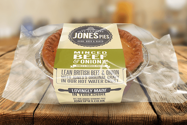 Jones Pies Minced Beef & Onion Hot Pie