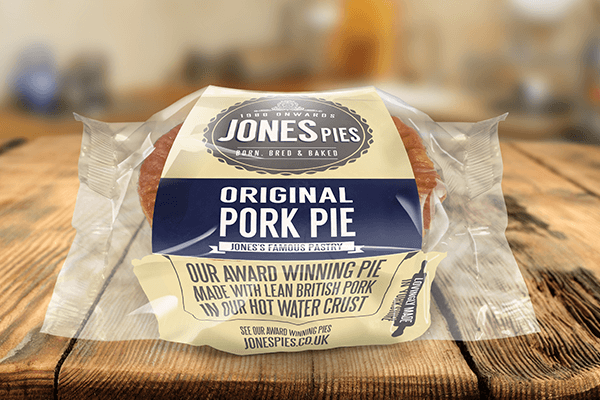Jones Pies Original Pork Pie
