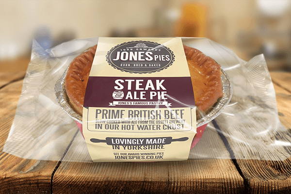 Jones Pies Steak & Ale Hot Pie