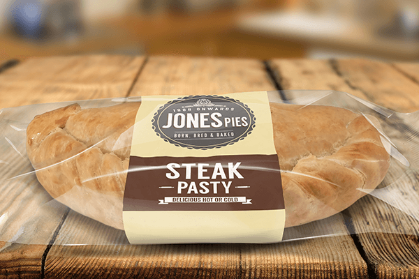 Jones Pies Steak Pasty