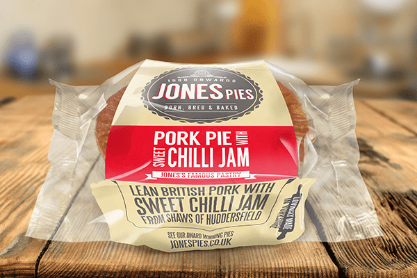Jones Pies Sweet Chilli Jam Pork Pie