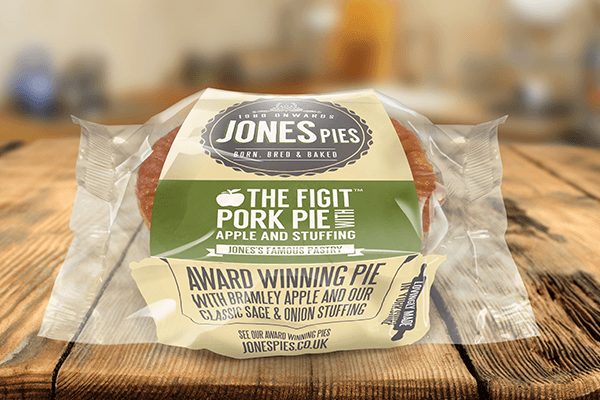 Jones Pies Figit Pork Pie