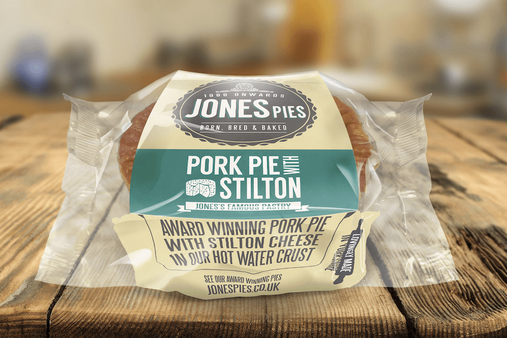 Jones Pies Yorkshire Blue & Stilton Pork Pie