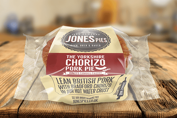 Jones Pies Yorkshire Chorizo Pork Pie